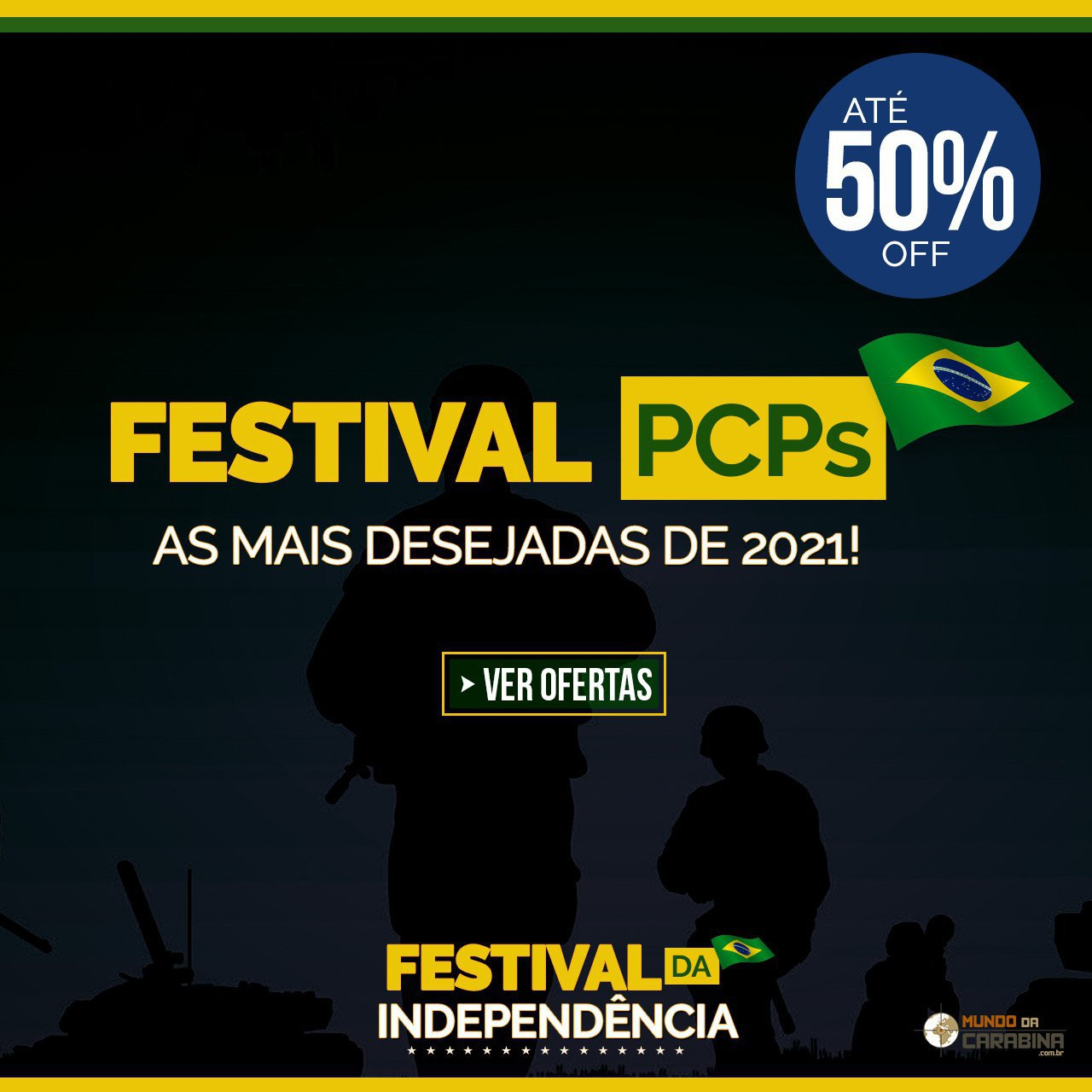 FESTIVAL PCPs - As Mais desejadas de 2021 com até 50% Off