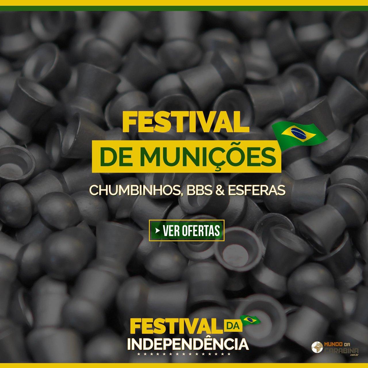 FESTIVAL DE MUNIÇÕES  - CHUMBINHOS, BBS & ESFERAS