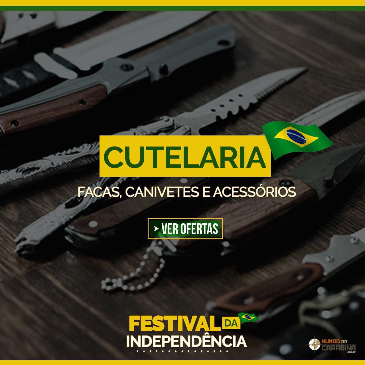 Cutelaria - Facas, Canivetes e Acessórios