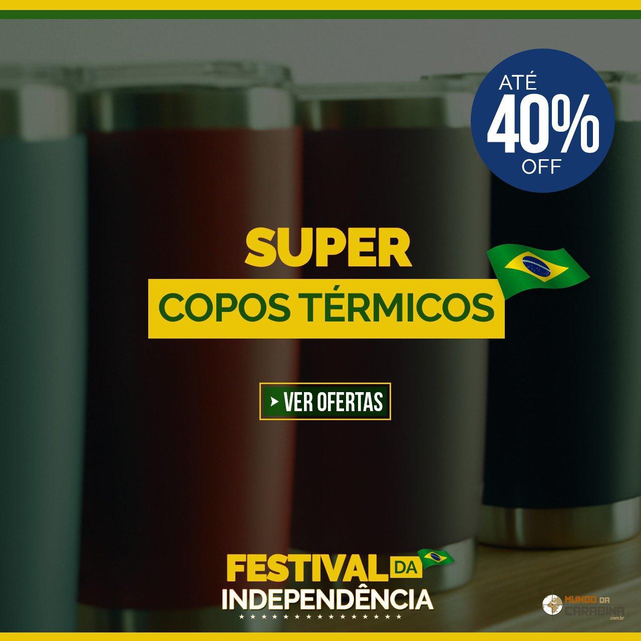 SUPER COPOS TÉRMICOS - ATÉ 40% OFF