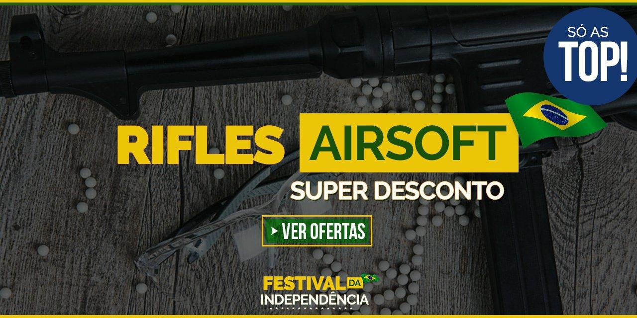 RIFLES AIRSOFT - Só os TOP !  Super Desconto