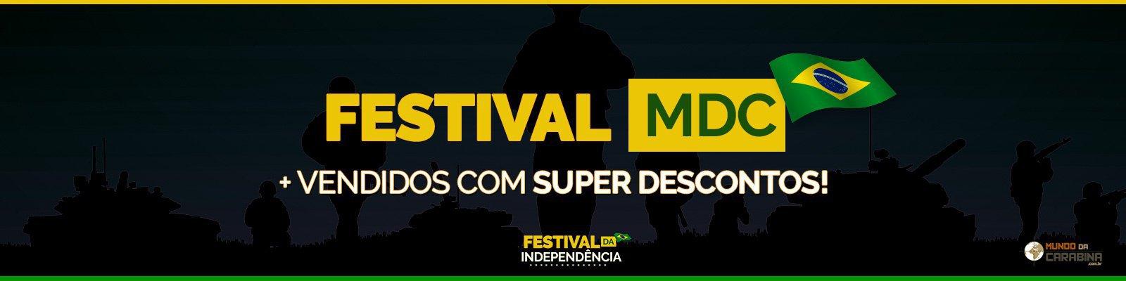 FESTIVAL MDC  + Vendidos com SUPER DESCONTOS!