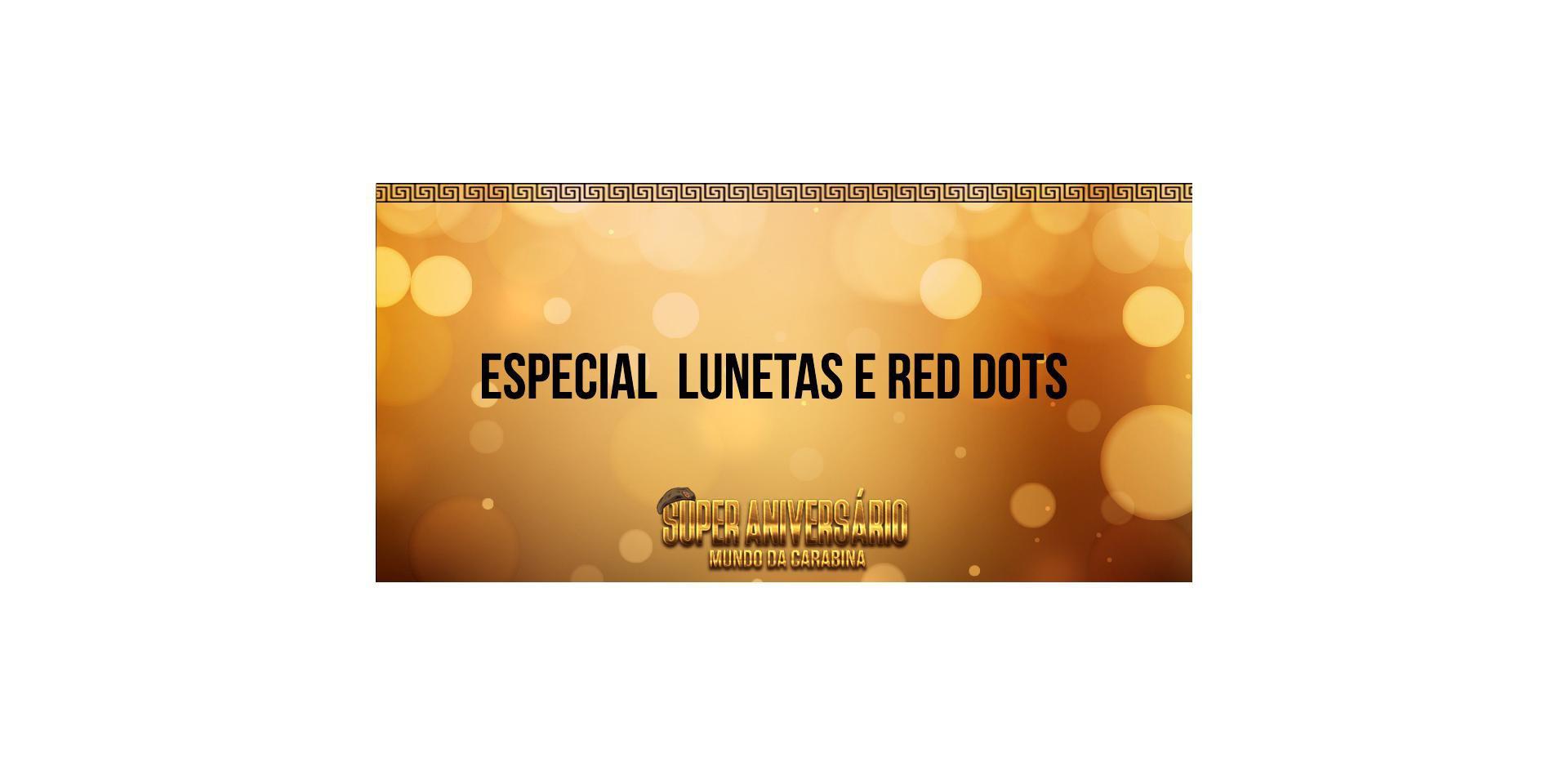 Lunetas e Reddots