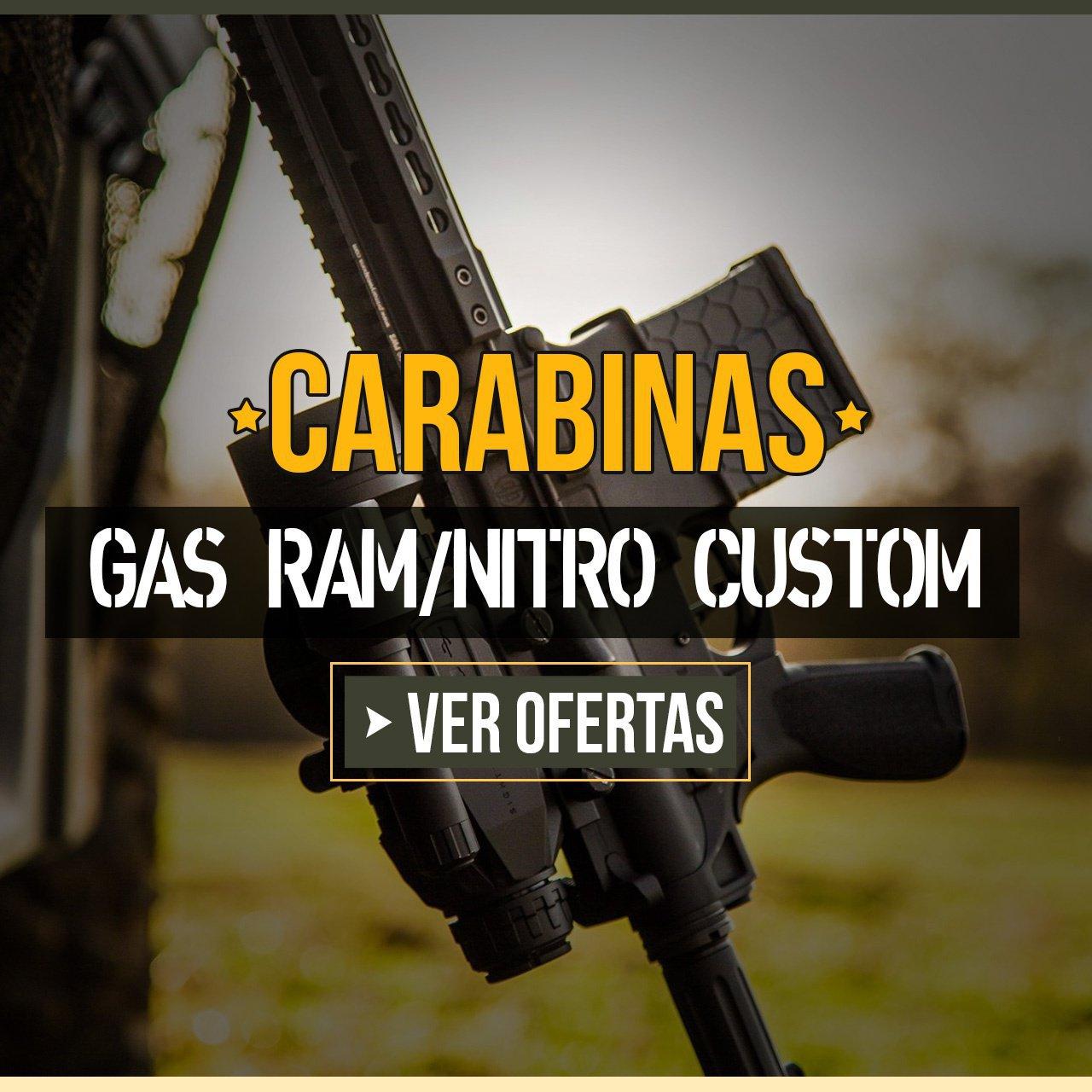 CARABINAS GAS RAM/NITRO CUSTOM