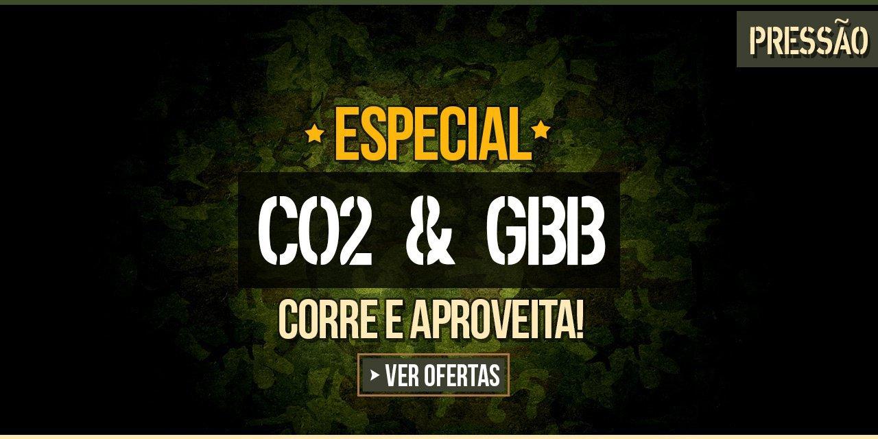 ESPECIAL CO2 & GBB - Corre e aproveita!