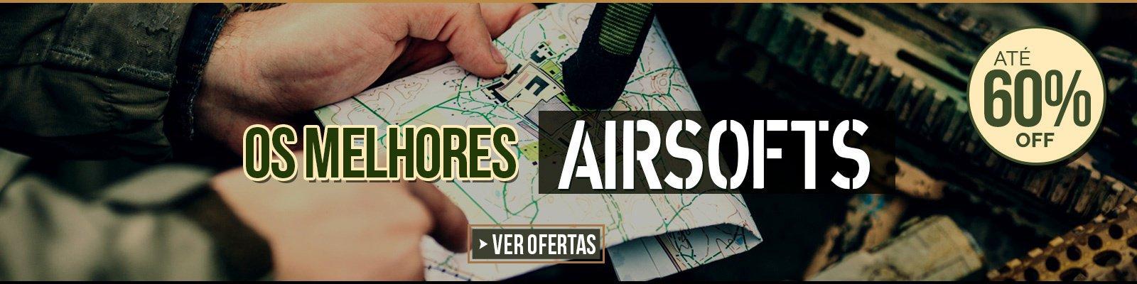 Os melhores Airsofts