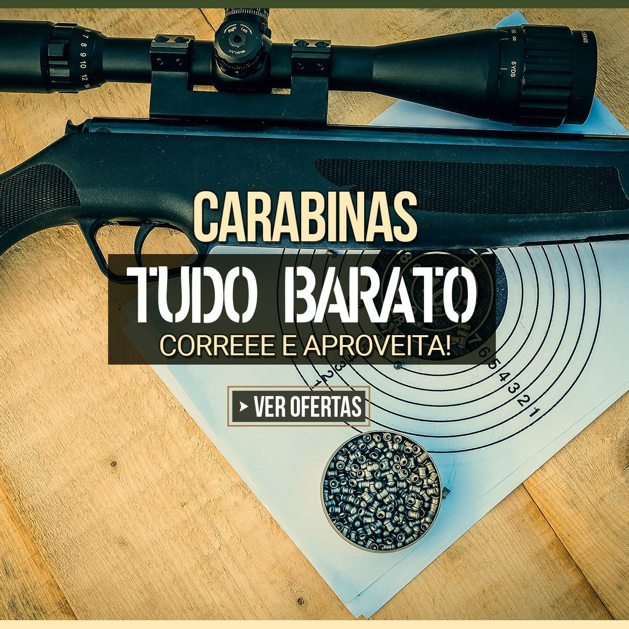 CARABINAS - TUDO BARATOOO, CORREEE E APROVEITA!