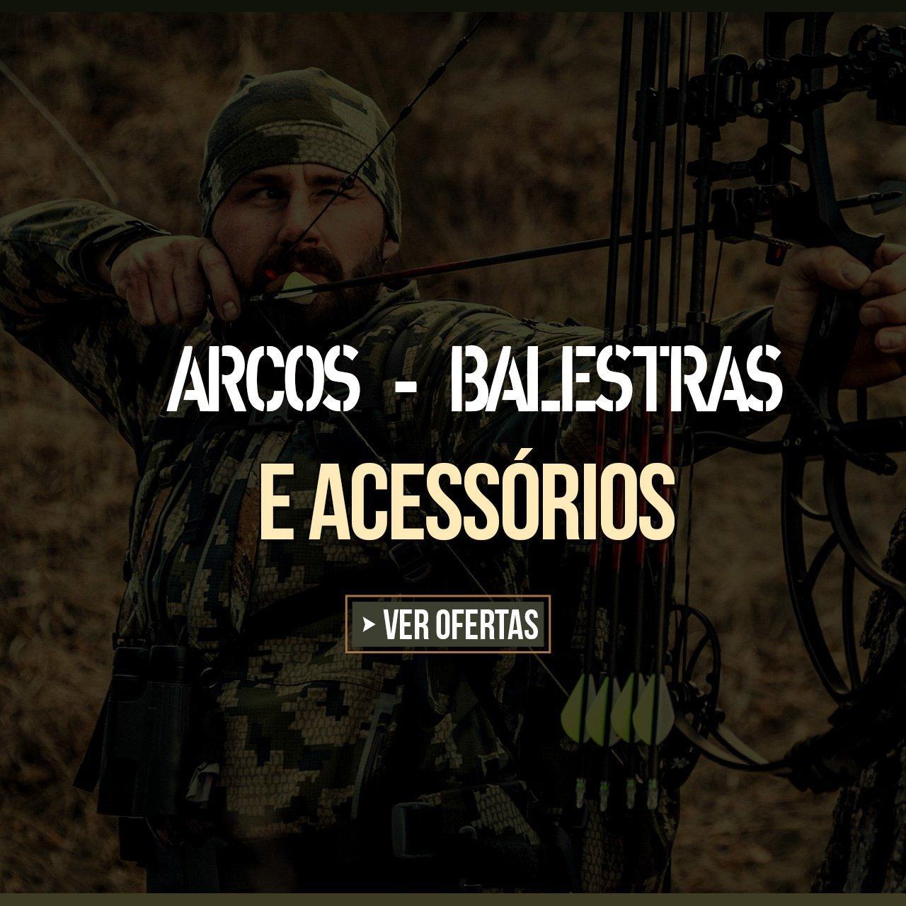 ARCOS, BALESTRAS E ACESSÓRIOS
