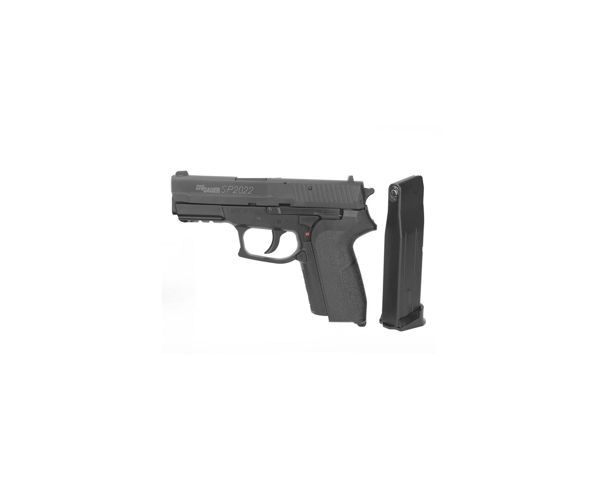 Pistola de Pressão Gas Co2 Sig Sauer SP2022 Cal 4,5mm Cybergun
