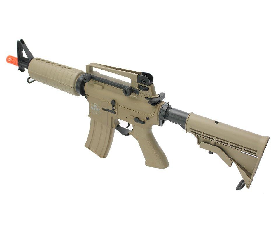 Rifle de airsoft elétrico AEG M4 A1 Echo S-2 6mm - QGK