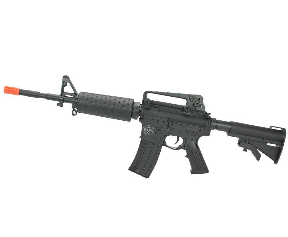 Rifle de Airsoft elétrico AEG M4 long Mike S-1 6mm - QGK