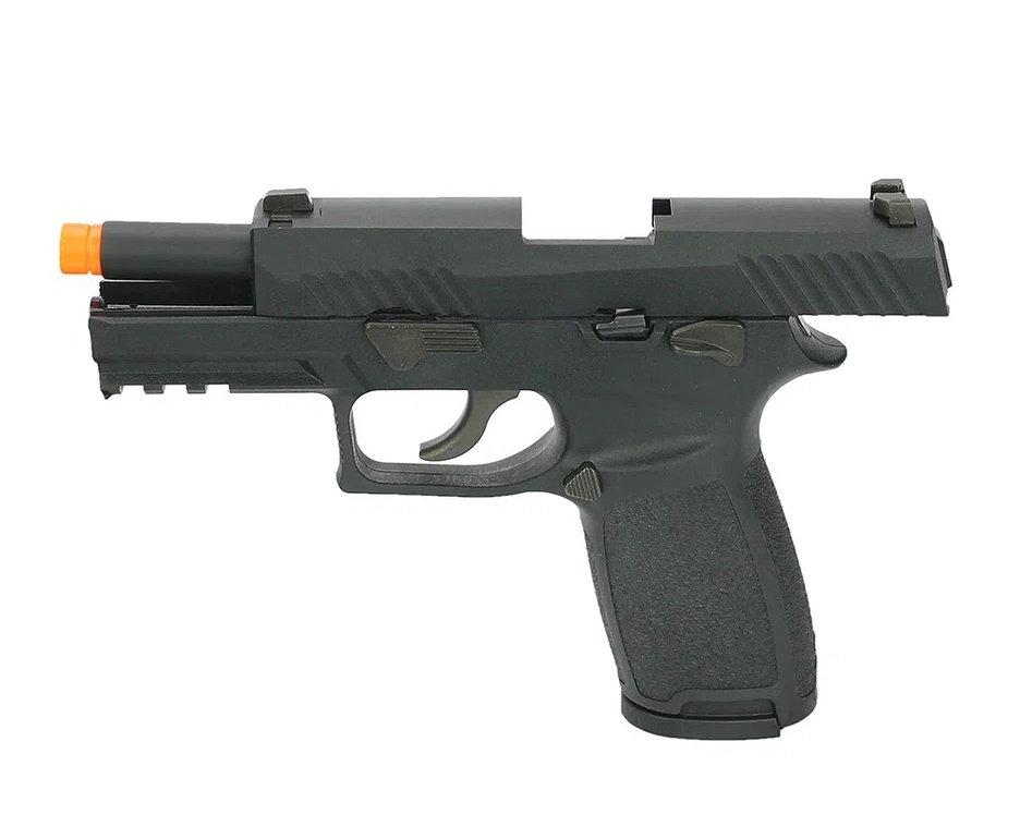 Pistola de Airsoft Gas GBB Sig Sauer F18 Blowback Black 6mm - WE