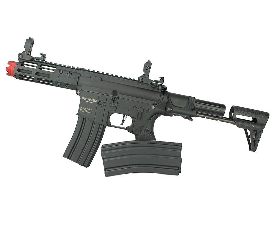"""Rifle De Airsoft Pdw Rossi Ar15 Neptune 6mm Keymod 5,5"""" Com Gatilho Et"""