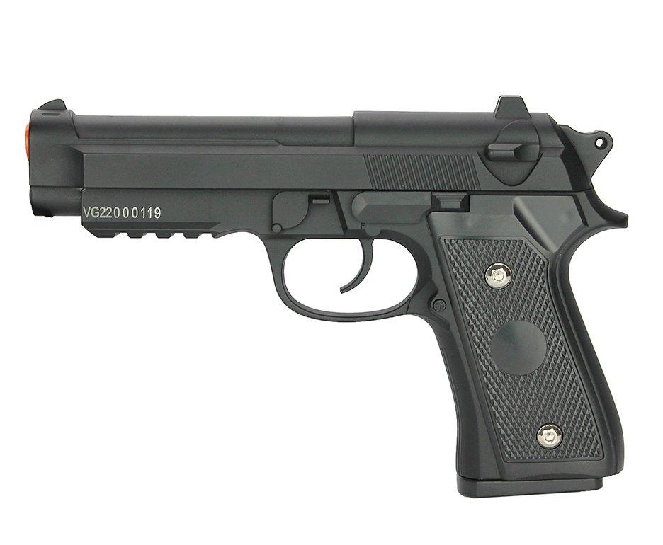 Pistola de Airsoft PT92 V22 Full Metal Spring 6mm - Vigor