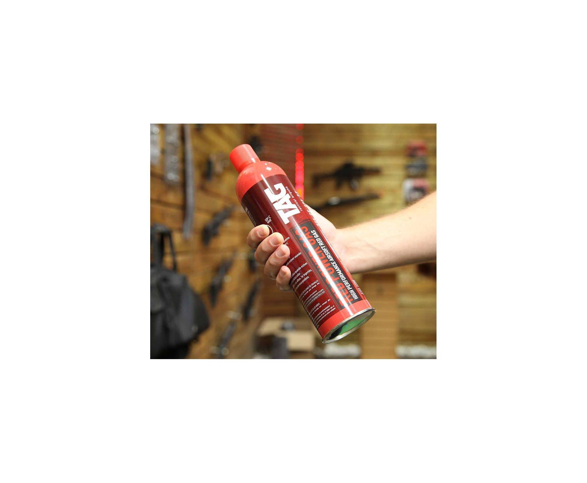 Red Gás TAG para armas de airsoft