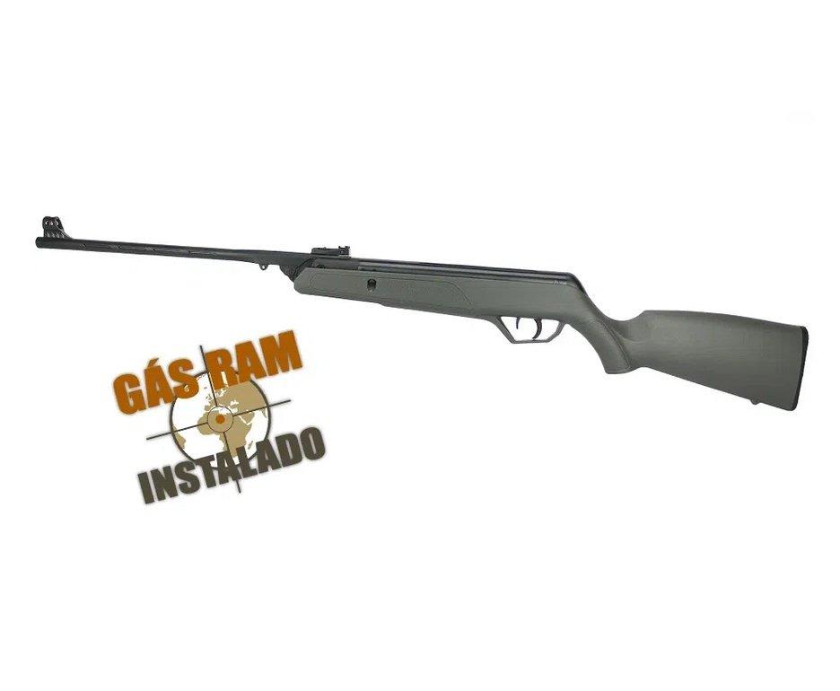 Carabina de Pressão CBC AG11 Nitro 5.5mm Gas Ram instalado