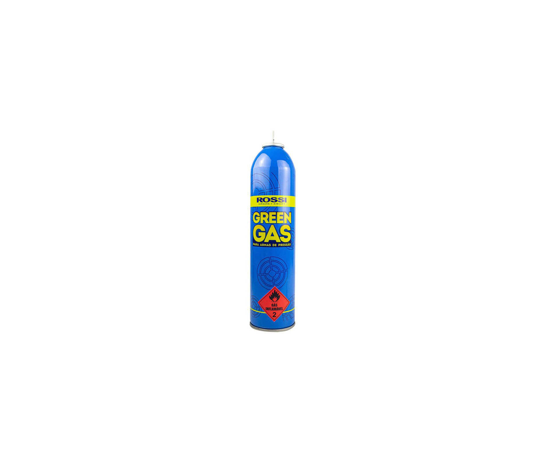 Cilindro Green Gas Rossi 600ml
