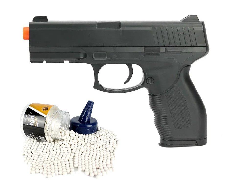 Pistola de Airsoft Vigor Spring VG 24/7 V310 Rossi 6mm + BBs 0,20g Rossi