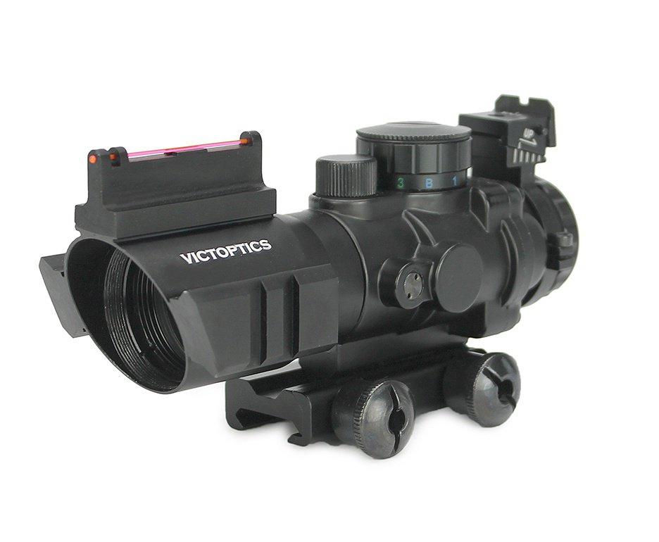 Luneta Red Dot ACOG  GAL 4x32 Tático Victoptics - Vector Optics