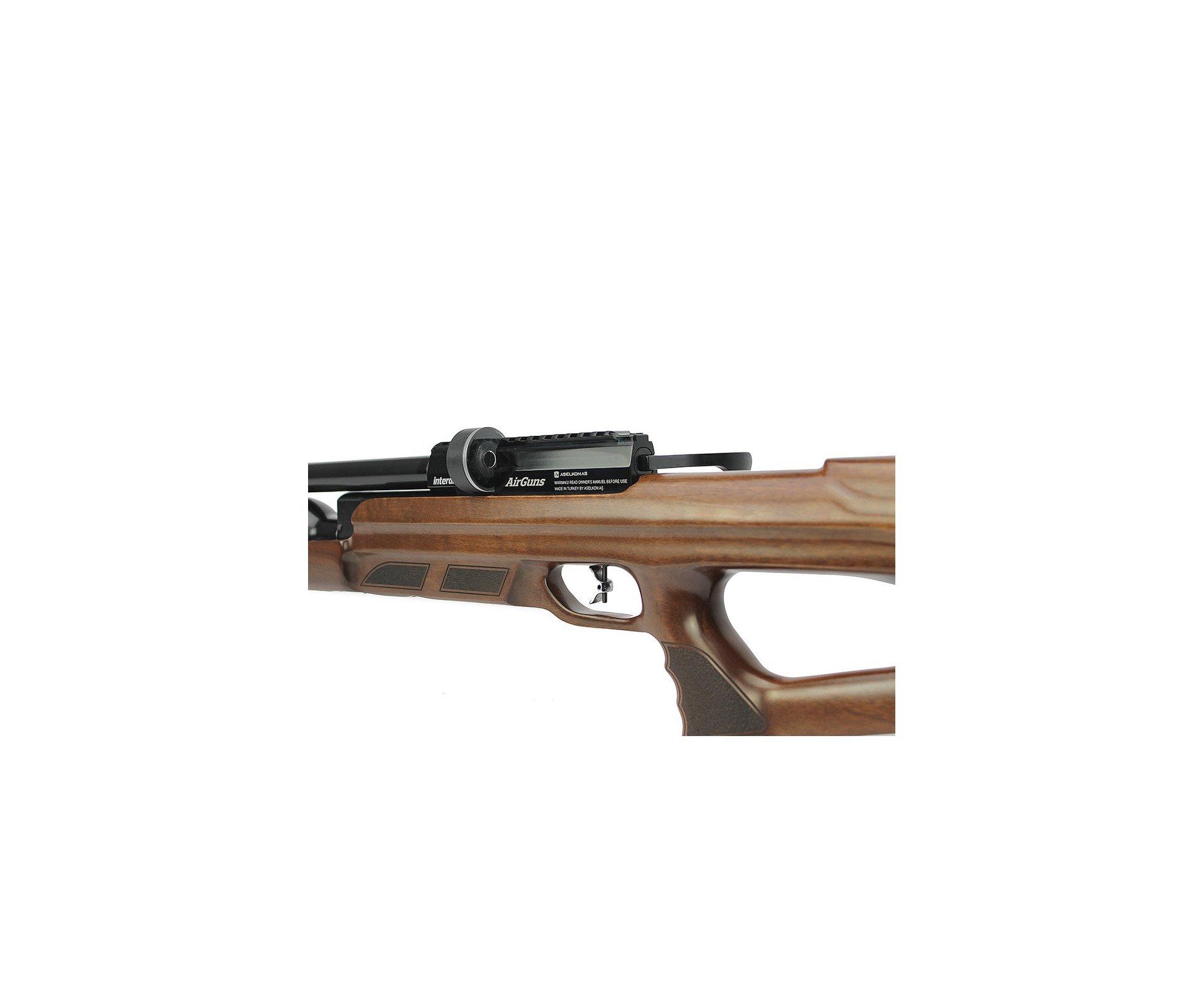 Artefato de Pressão PCP MX9 Sniper Wood Regulated 5.5mm Aselkon