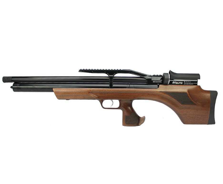 Carabina de Pressão PCP Aselkon MX7 Bullpup Wood Regulated 12 Tiros5.5mm