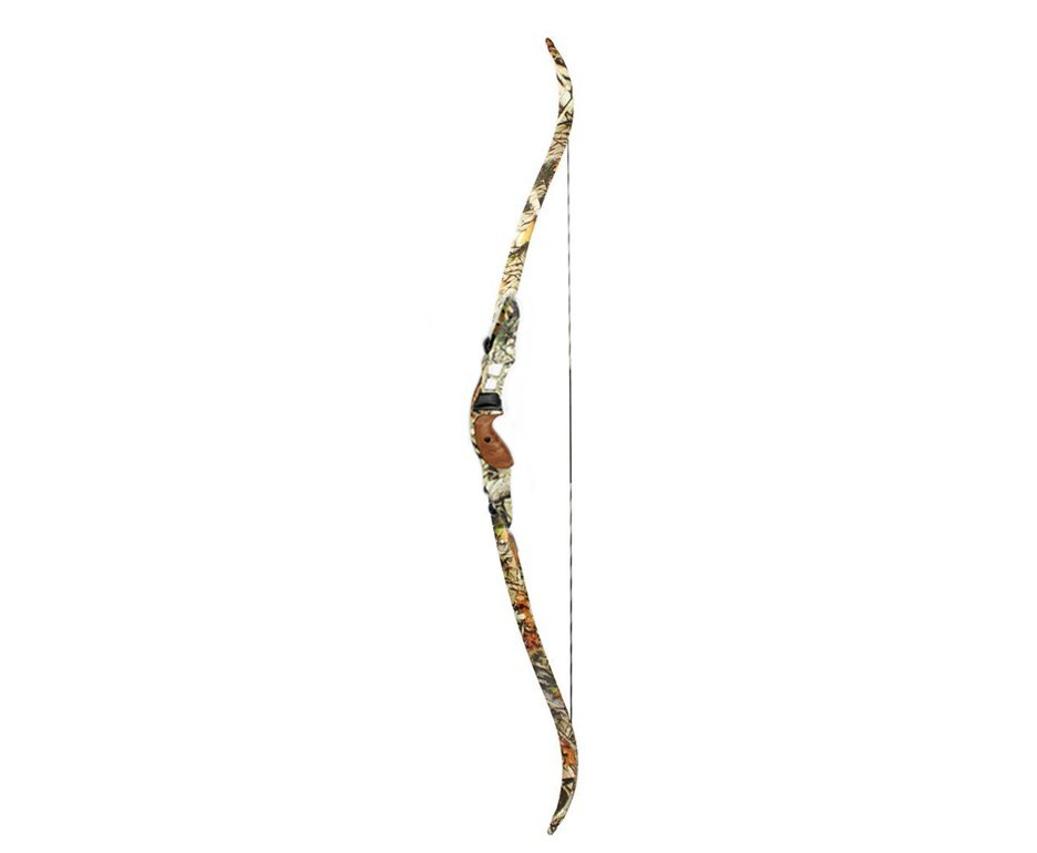 Arco Recurvo Profissional 30-60lbs F161 Camuflado  - Junxing Archery