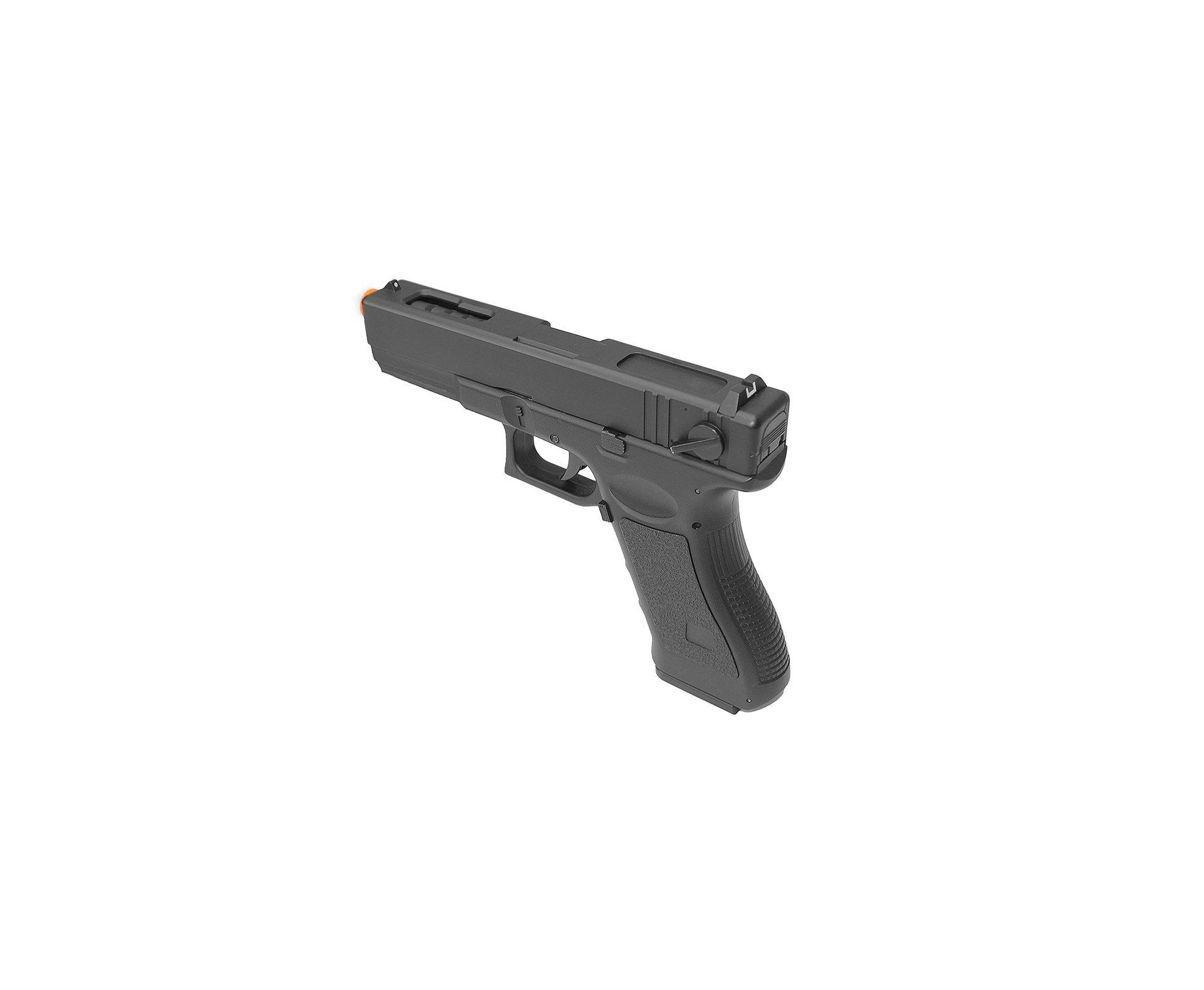 Pistola De Airsoft Eletrica Glock G18c - Calibre 6,0 Mm - Cyma
