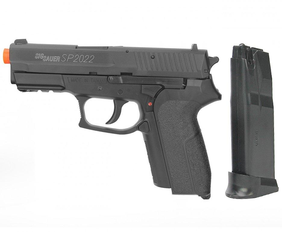 Pistola De Airsoft Sig Sauer Sp2022 Metal - Cal 6,0mm - Cybergun