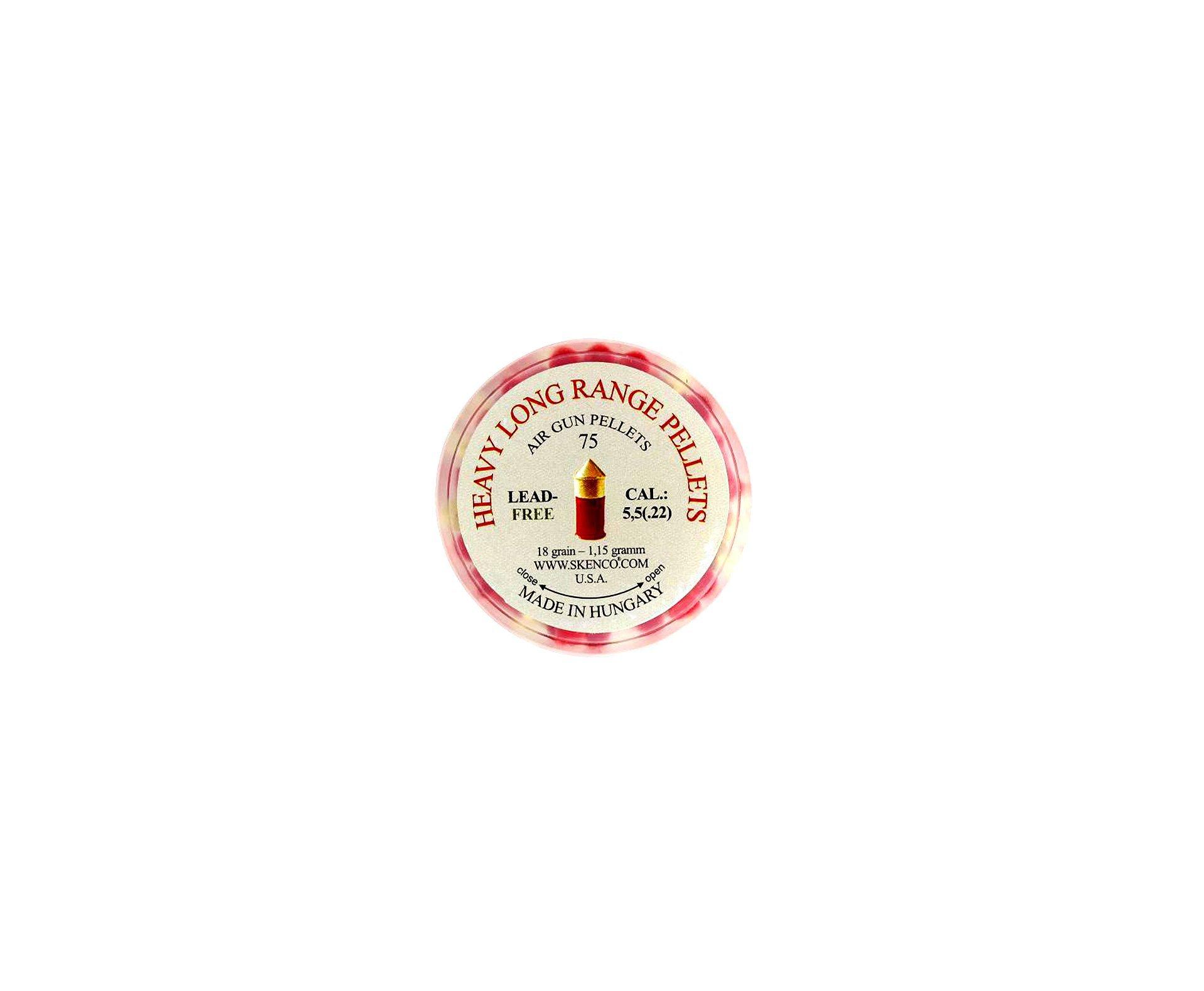 Chumbinho Skenco Heavy Big Red Pesado 5.5mm