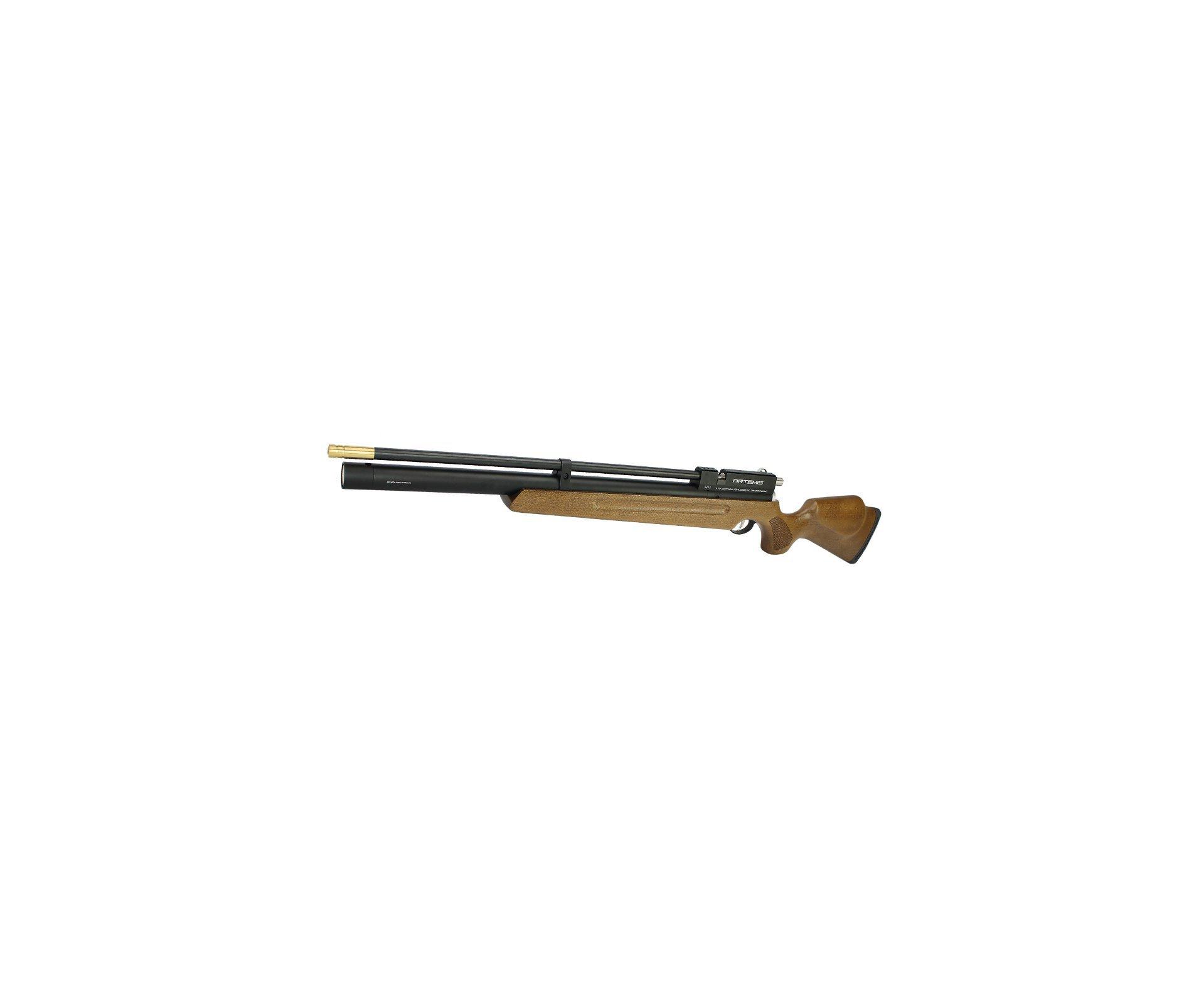 Carabina De Pressão Pcp M11 5,5mm 11 Tiros Madeira Spa Ar+