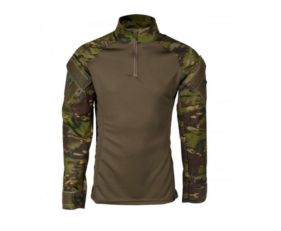 Camisa Combat Shirt Steel Camuflado Tropic