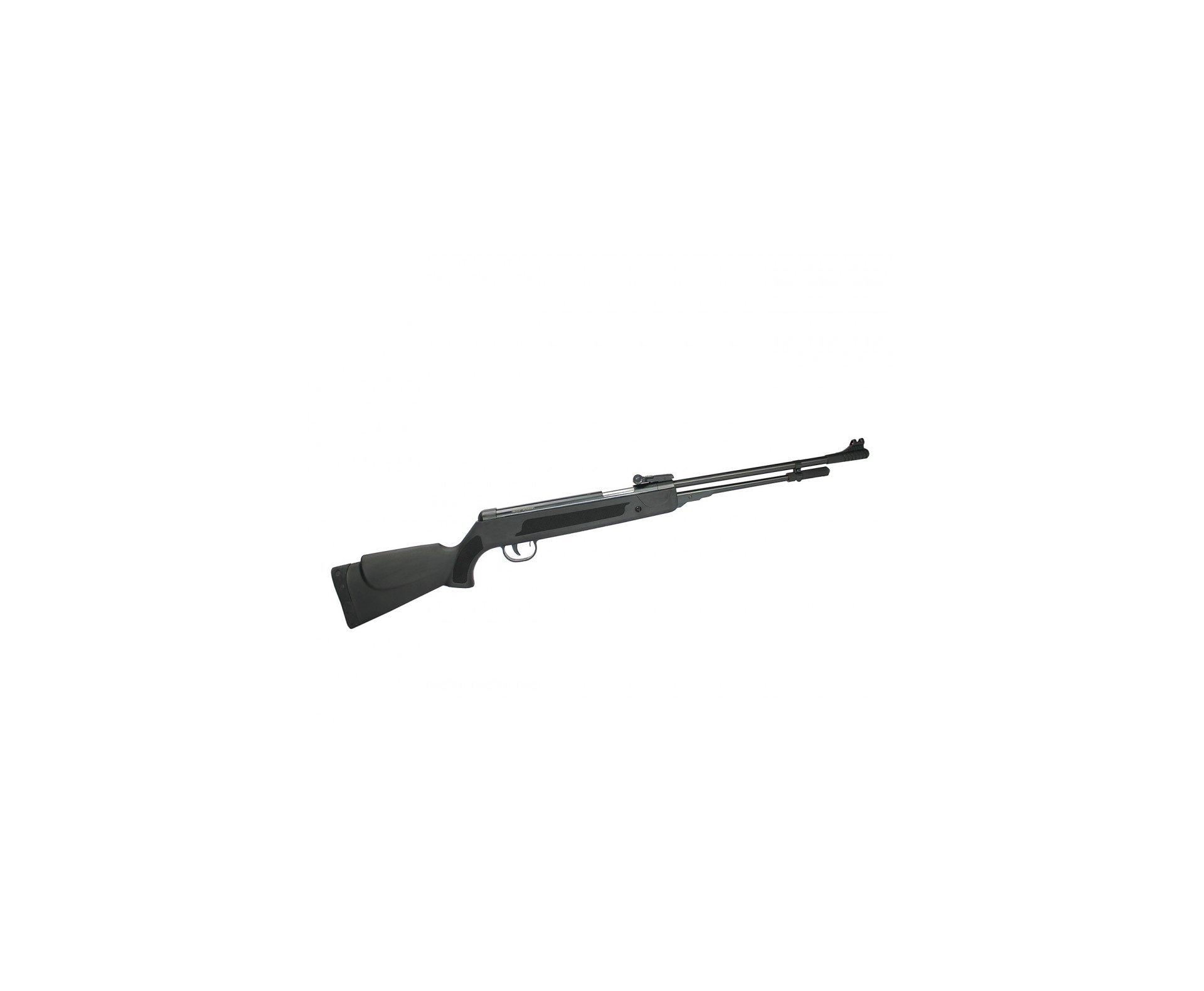 Carabina De Pressão Power Spring Black Cal 5.5mm Fixxar Gás Ram 50kg Instalado