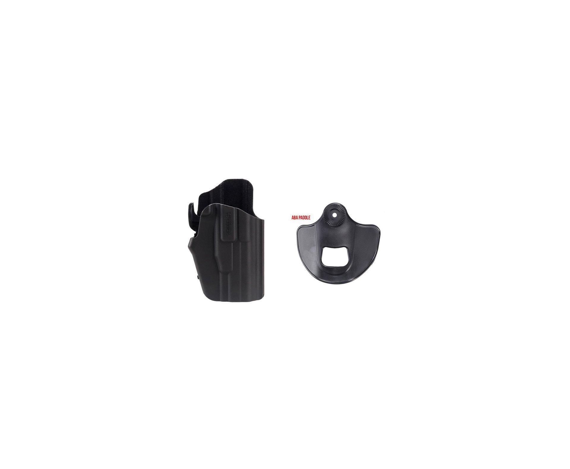 Coldre Evolution I Pistola Taurus, Glock, Whalter, H&k, S&w  Com Adaptador Paddle Destro - Belica