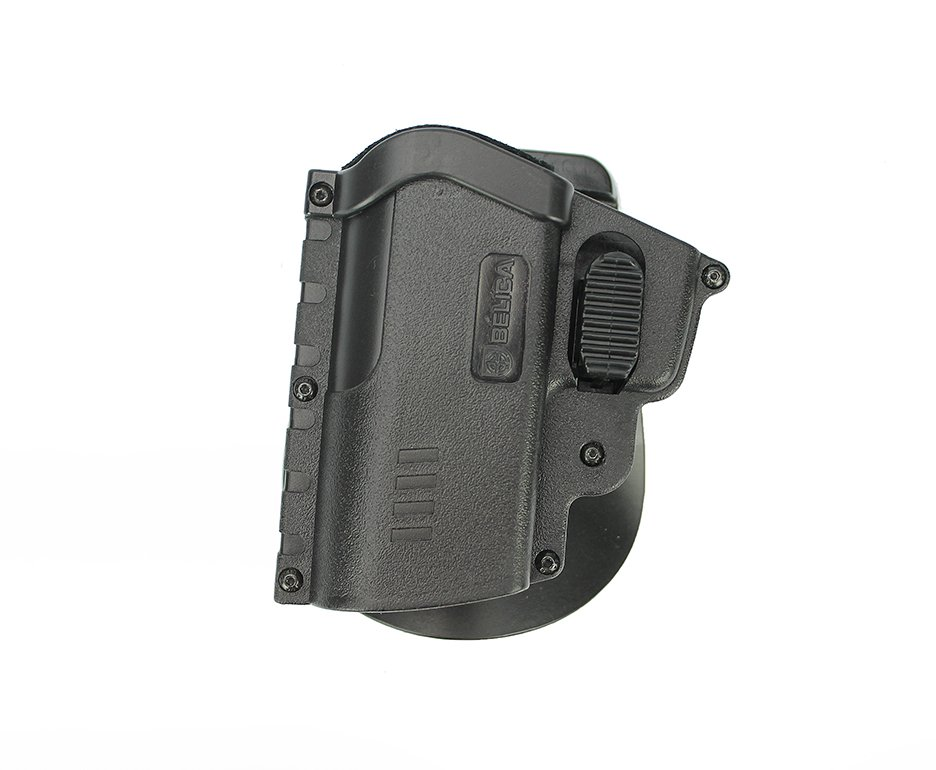 Coldre Eagle Dual Lock Polimero Pistola Taurus 24/7, Pt92, Diversos Canhoto - Belica