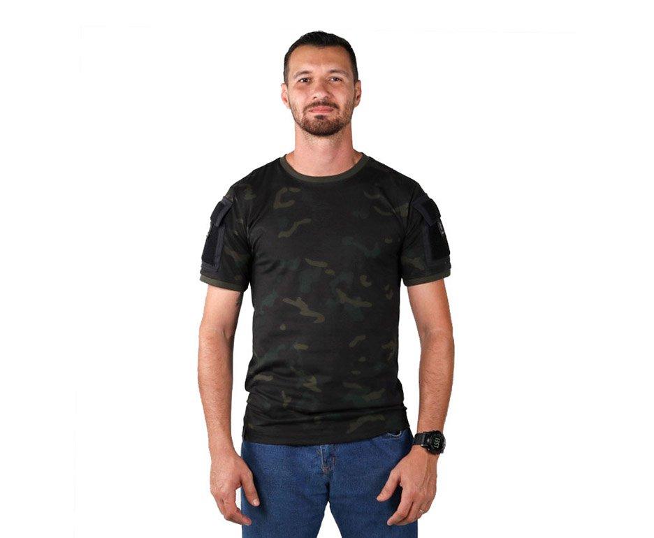 Camiseta Ranger Multicam Black - Belica