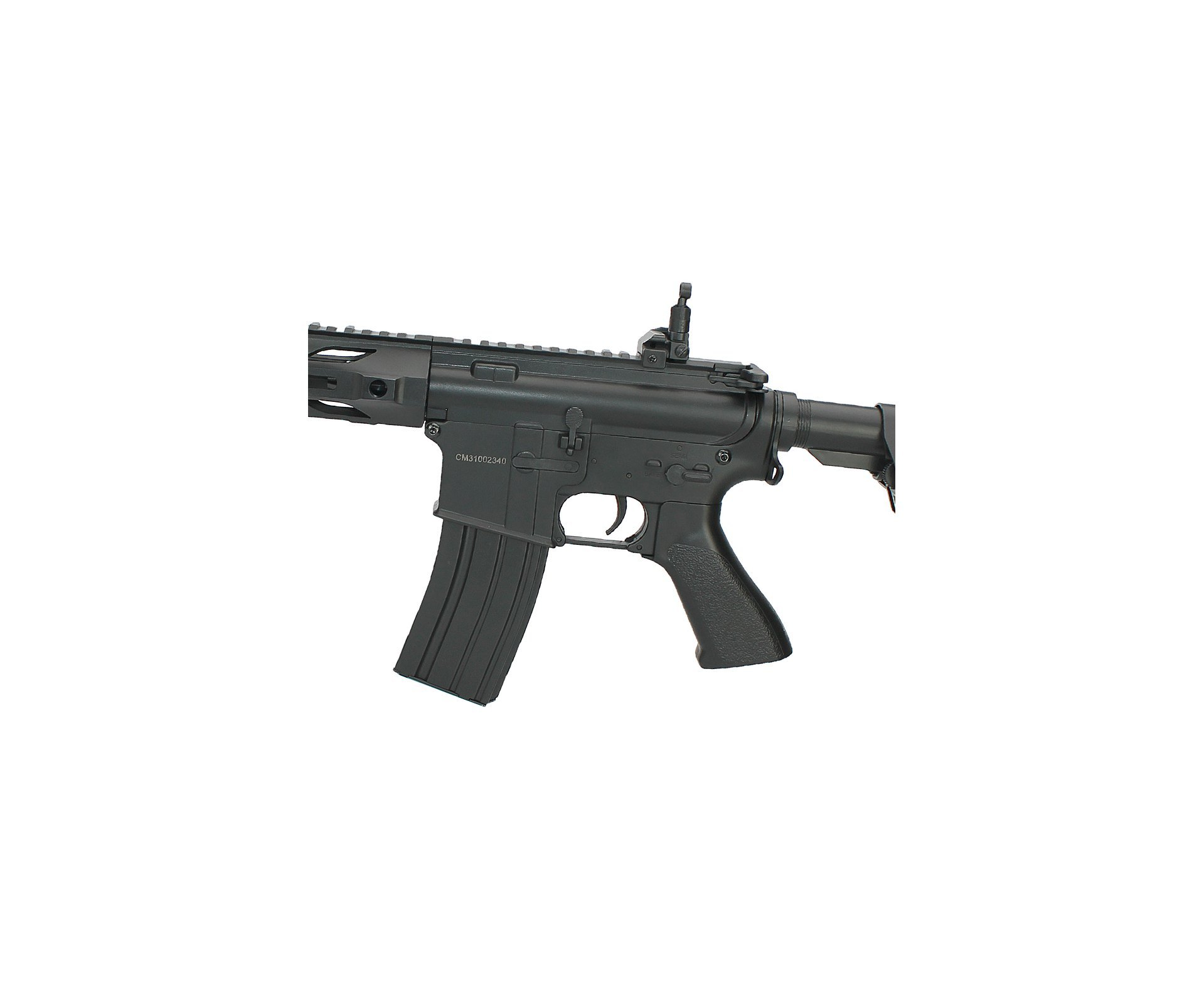 Rifle De Airsoft M4a1 Keymod Cm518 Black - Cal 6mm- Bivolt- Cm518 - Cyma