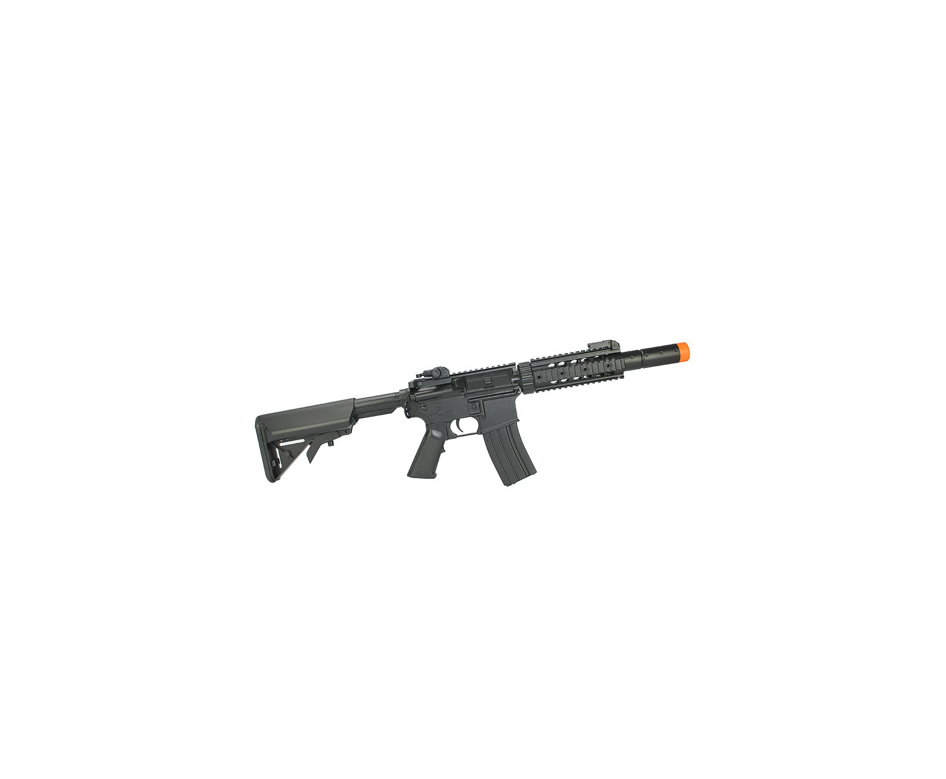 Rifle De Airsoft M4a1 Ris Black Cm513 Cal 6mm - Eletrico - Bivolt - Cyma