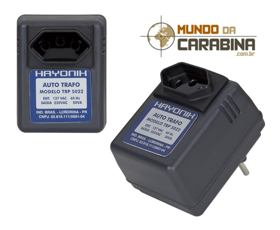 Transformador De Voltagem De Parede 110 - 220 V
