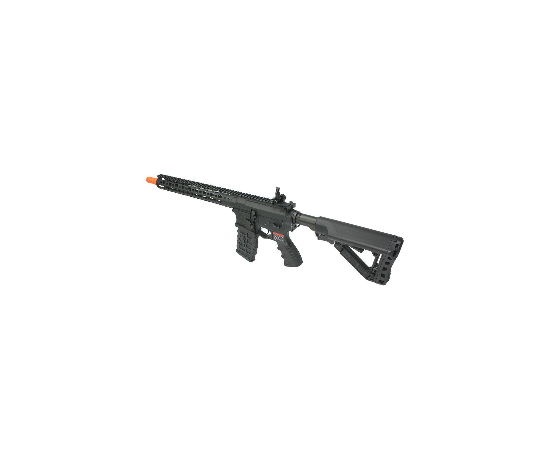 "Rifle De Airsoft Cm16 Wild Hog 13,5"" Long - Elet Mosfet - Cal 6mm - G&g"