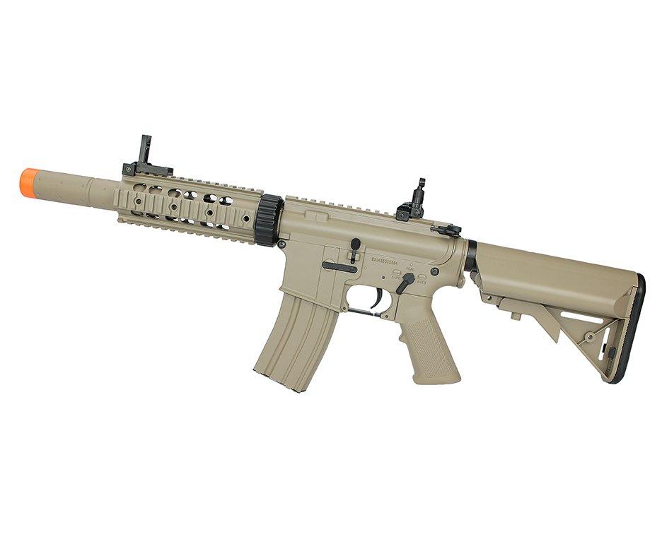 Rifle De Airsoft M4a1 Ris Tan Cm513 Cal 6mm - Eletrico - Bivolt - Cyma