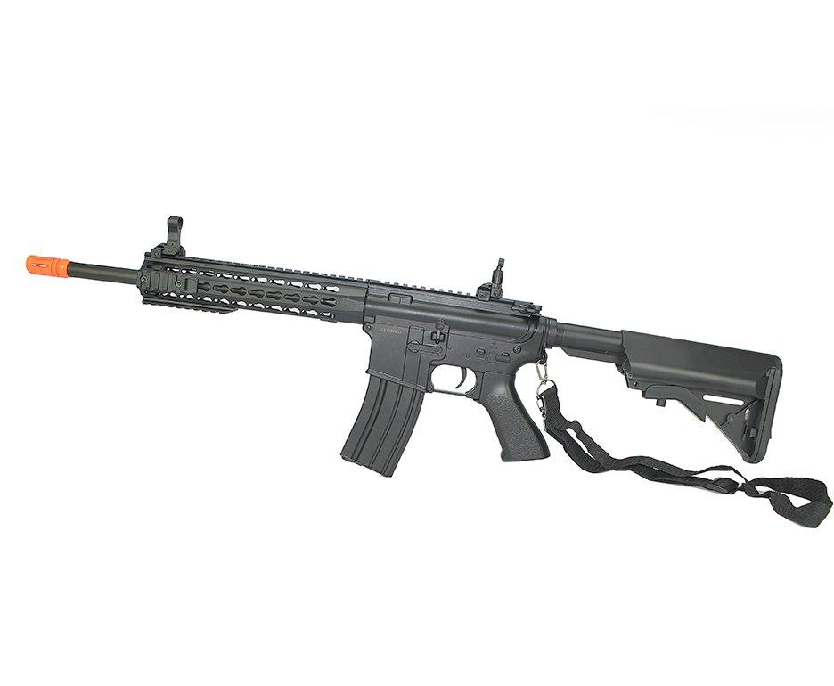 Rifle De Airsoft M4a1 Ris Black Cal 6mm - Bivolt - Cm515 - Cyma