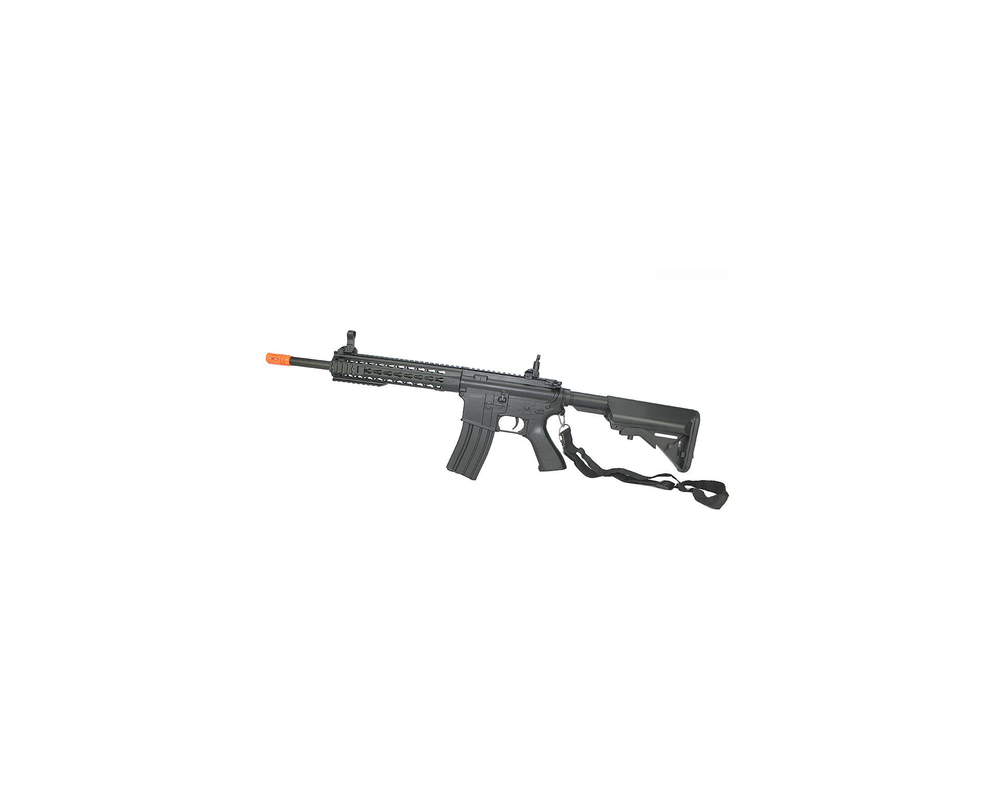 Rifle De Airsoft M4a1 Ris Black Cal 6mm - Bivolt - Cm515 - Cyma