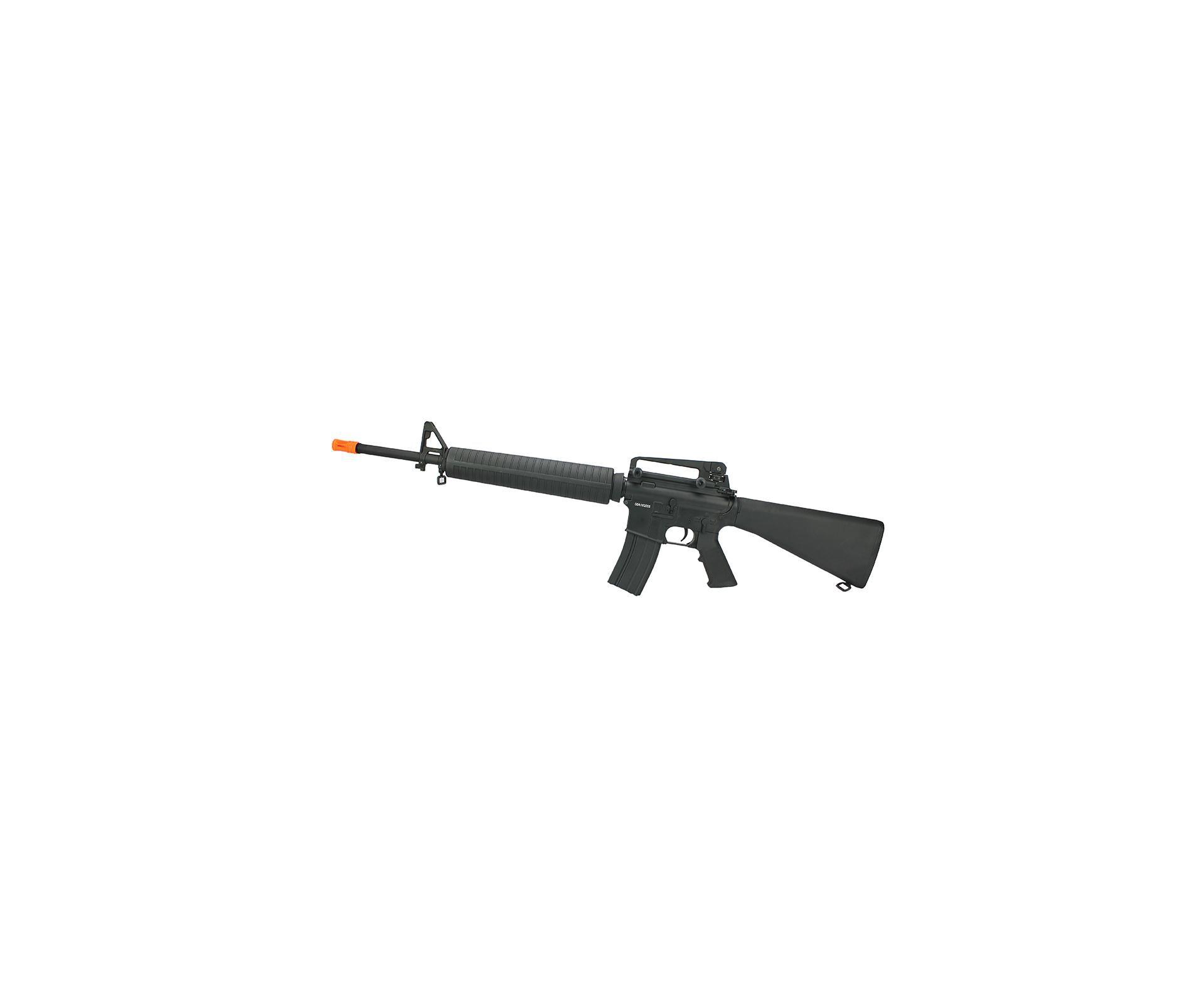Rifle De Airsoft M16 Full Metal Cal 6mm Cm009 Bivolt - Cyma