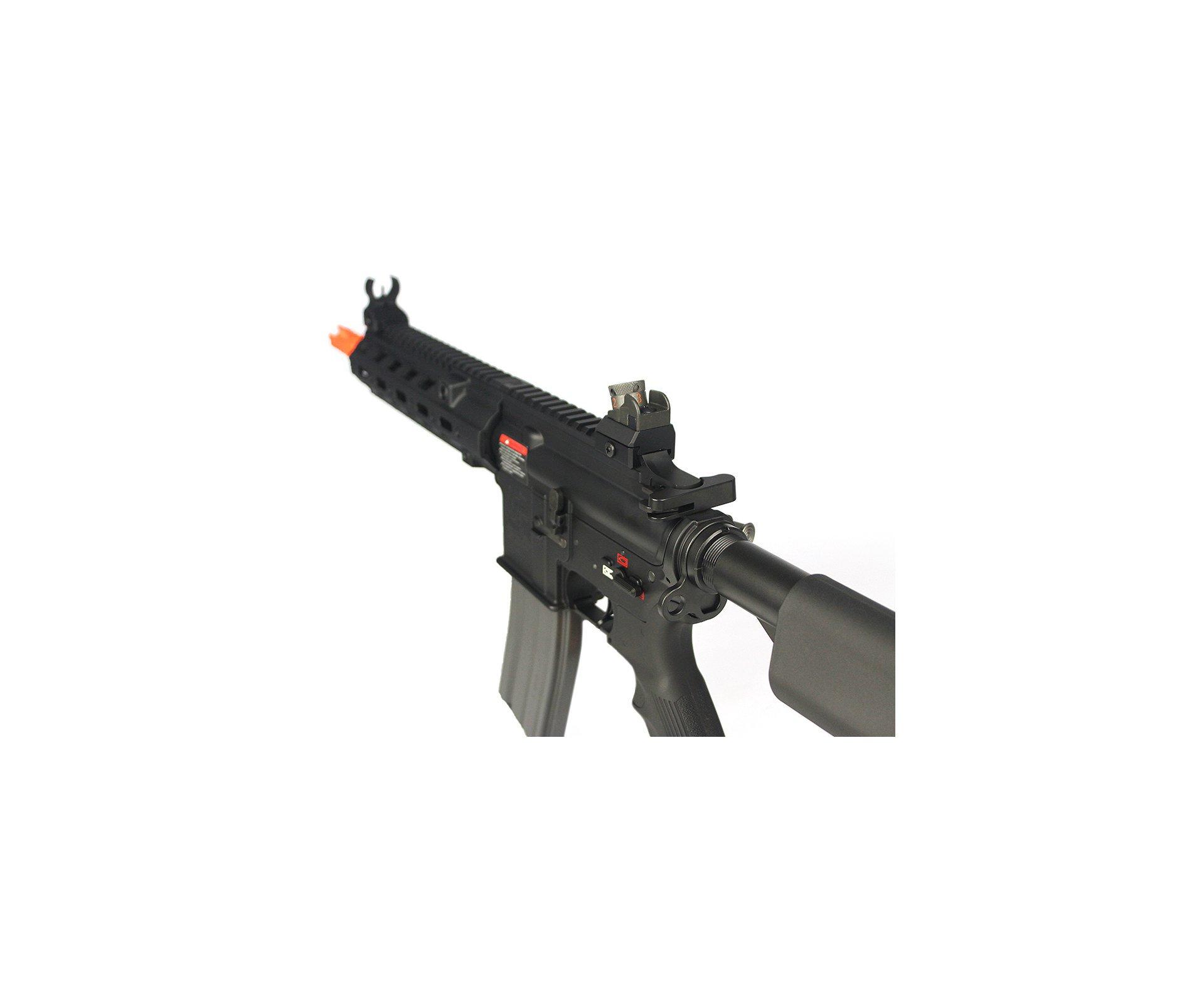 Rifle De Airsoft M4 Cqb Blowback Gc1-46 Full Metal - G&g