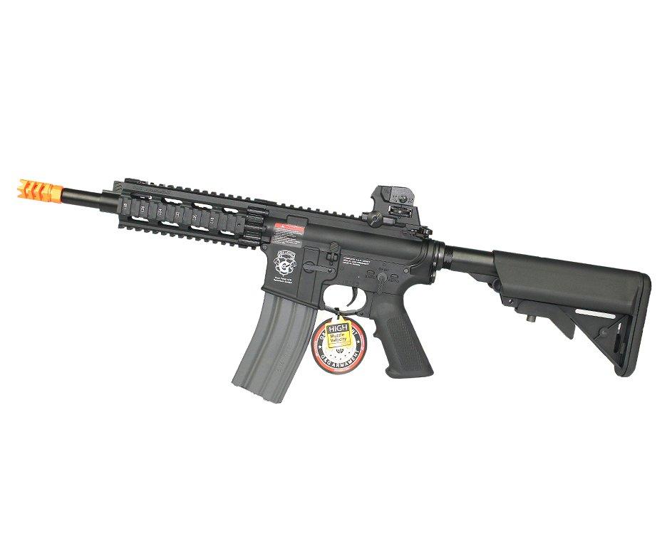 Rifle De Airsoft Gr16 Cqw Rush Blowback Cal 6mm Aeg - G&g