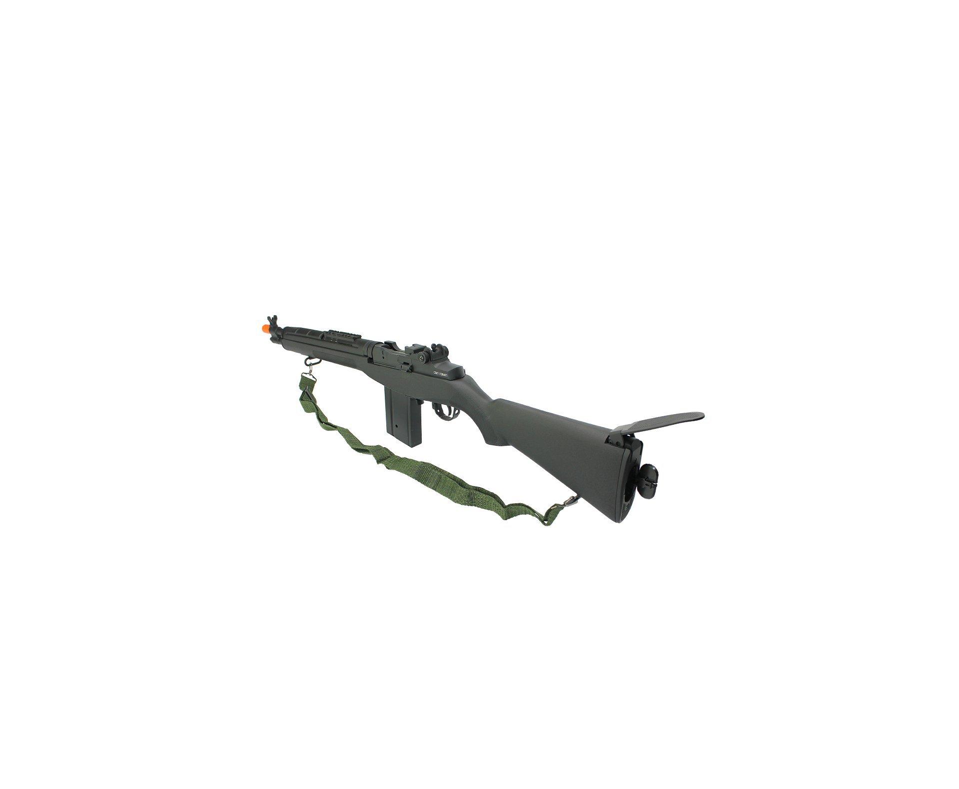 Rifle De Airsoft M14 Scout Socom Aeg Full Metal Cal. 6mm Cm32a Bk - Cyma