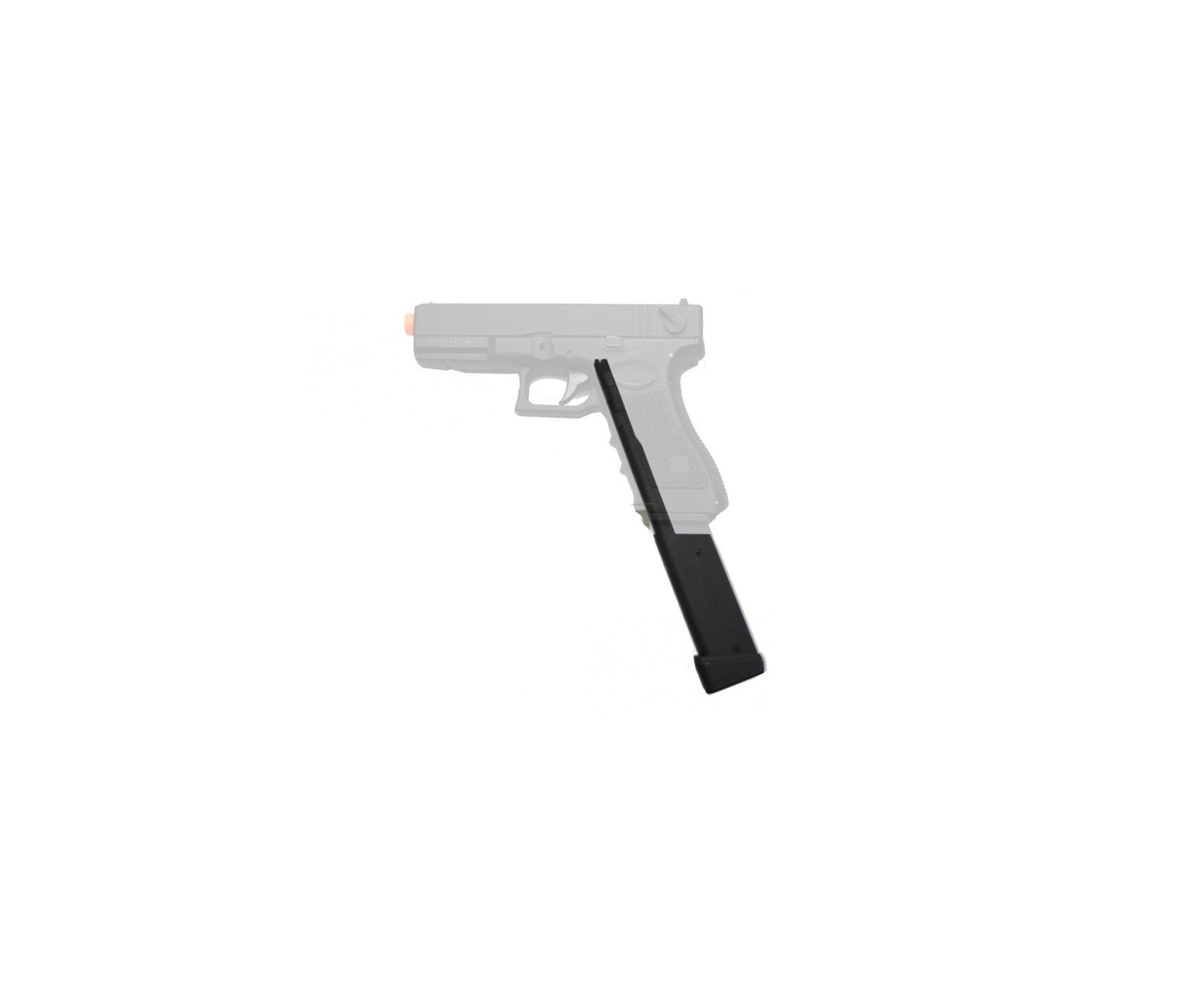 Magazine Estendido Para Pistola Glock / P226 E 1911 Cyma (cap 100 Bbs) - Cyma