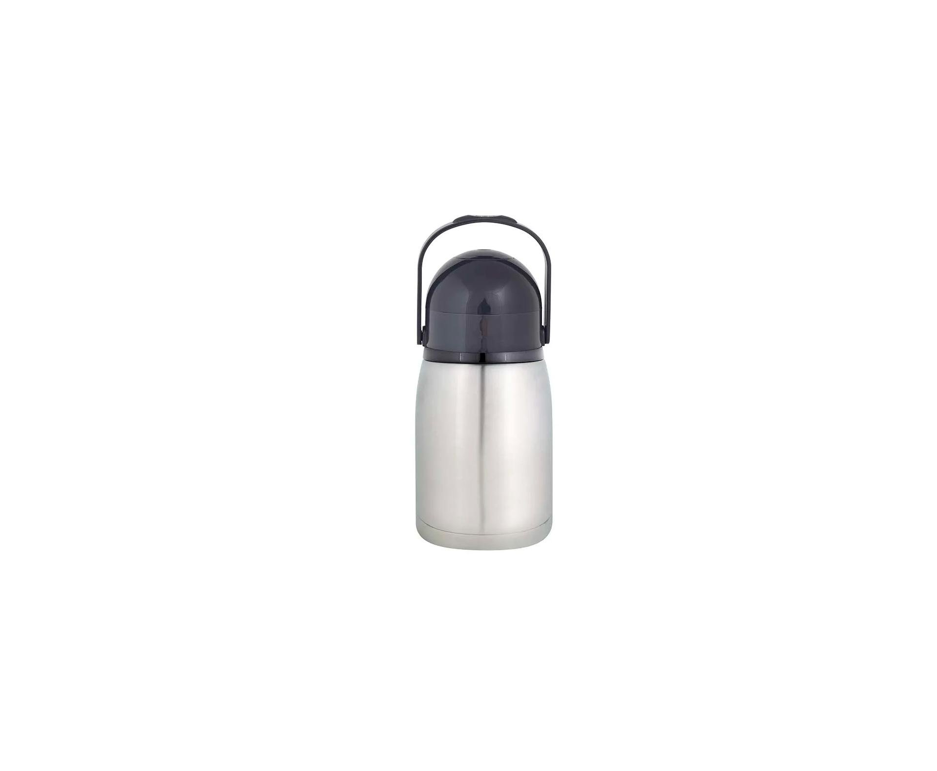 Garrafa Térmica Mor Nobile Total Inox 1,3 Litros Inquebrável