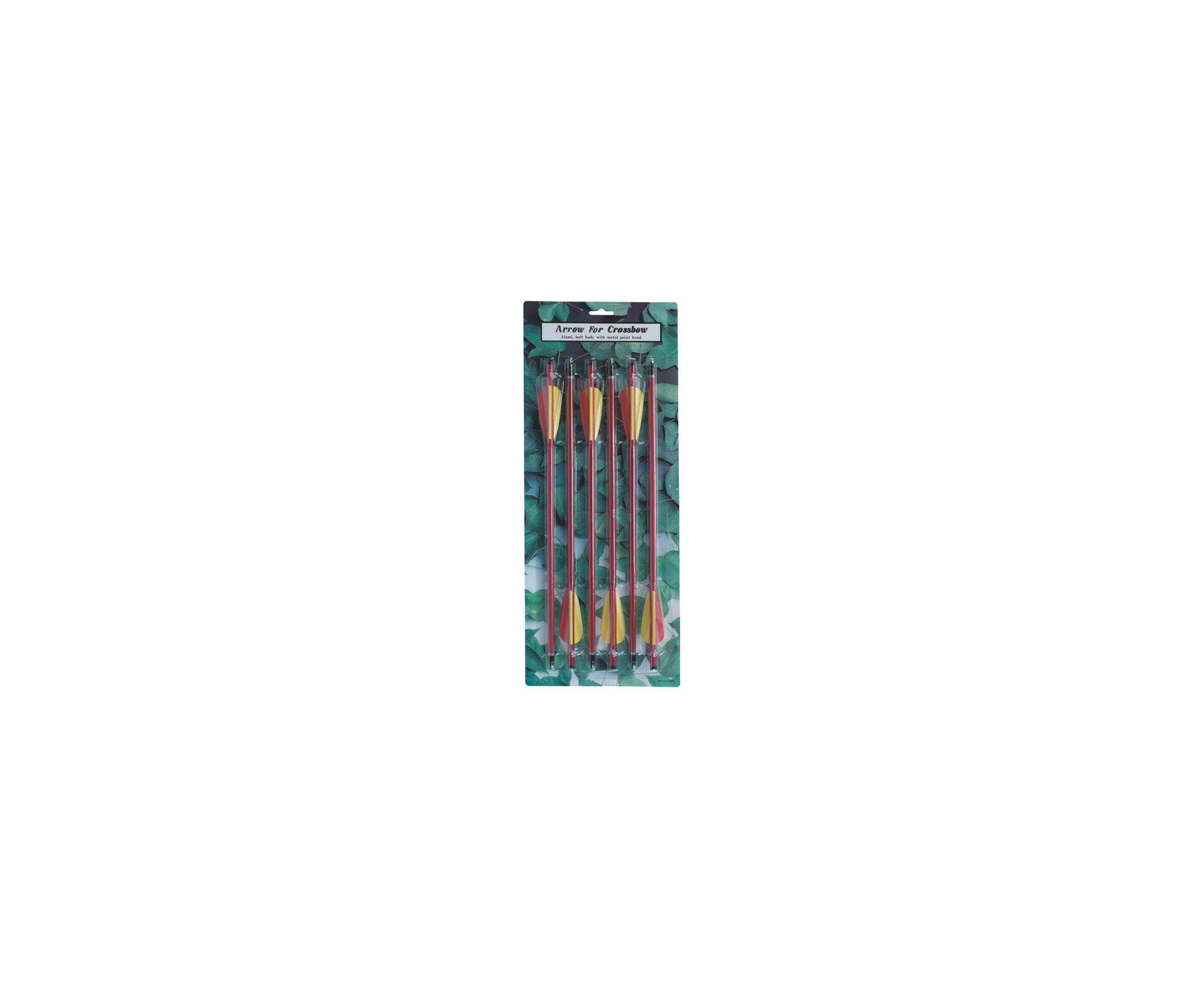 """Kit Com 6 Flechas Para Besta / Balestra De 120/150/175 Libras - Buffalo River - 14"""""""