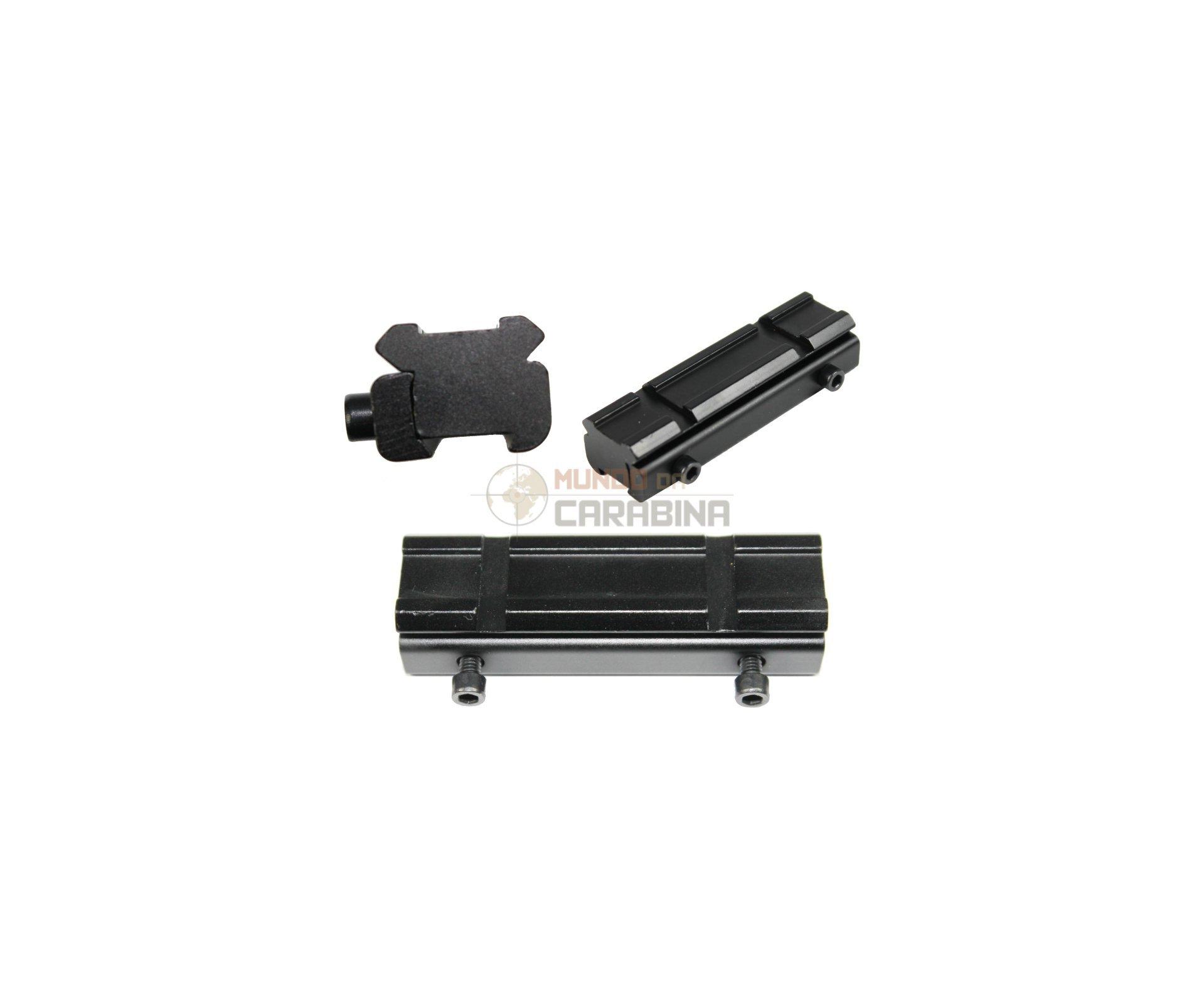 Suporte Adaptador Trilho 11mm/22mm Rossi